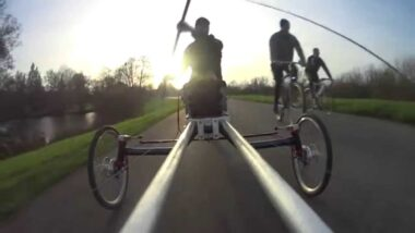 Paddle Bike Surfski