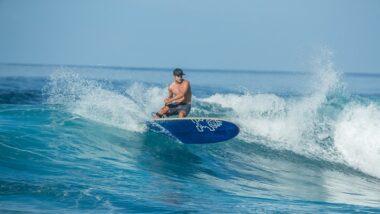 SUP Longboarding