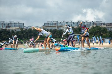 Prova de SUP e Paddleboard da ISA