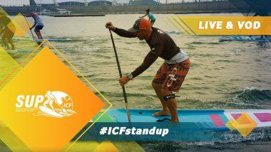 Mundial de SUP da ICF ao vivo