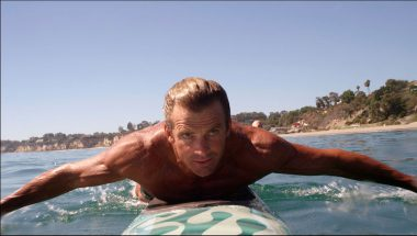 Laird Hamilton paddleboard