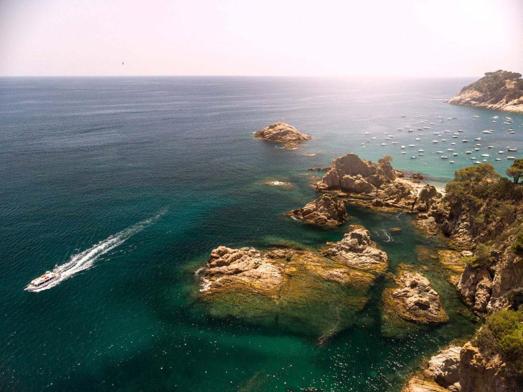Tossa de Mar, Costa Brava espanhola. Foto: Daniel Aratangy
