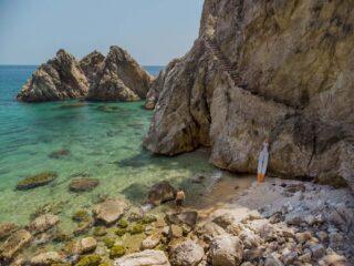 stand up paddle e Praia na Espanha