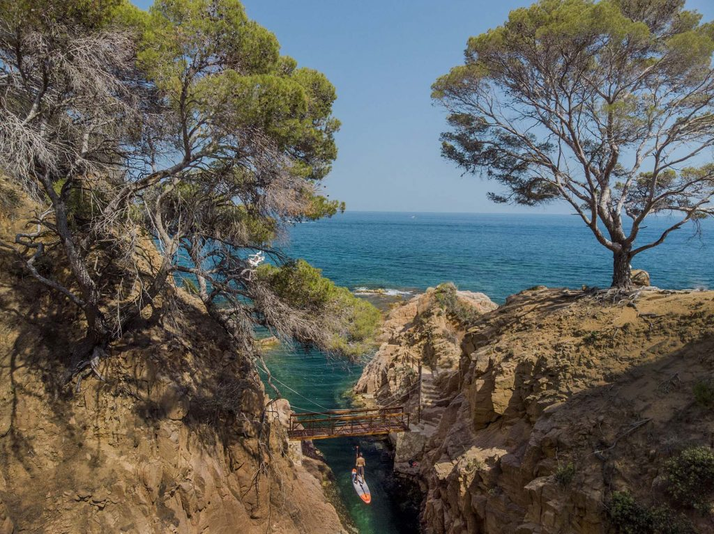 Tossa de Mar, Costa Brava espanhola.