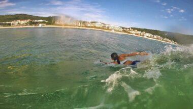 Bodysurf em Floripa
