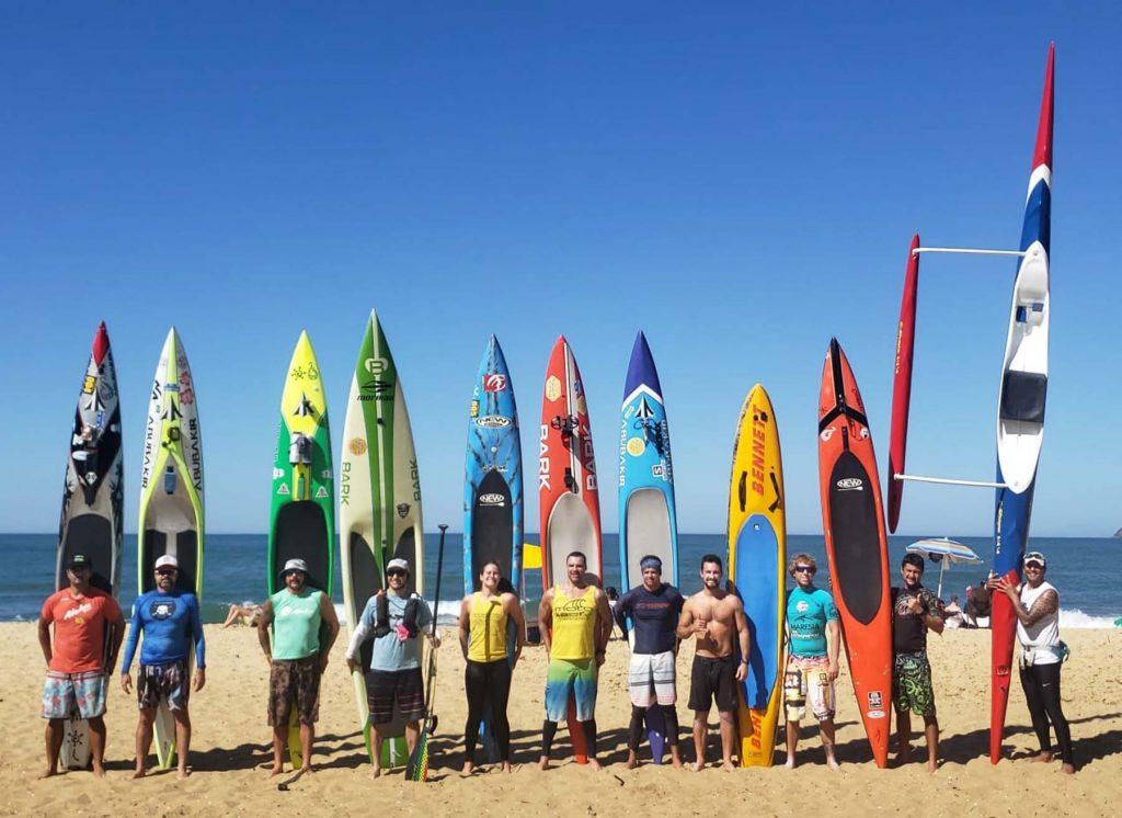 Paddleboard brasileiro na Molokai 2 Oahu