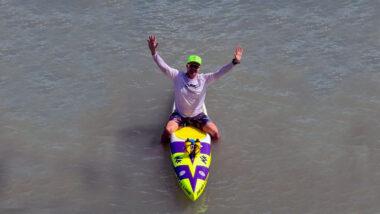paddleboard na molokabra