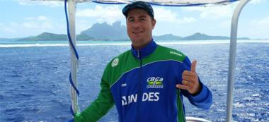 Dennis Simões canoagem oceanica