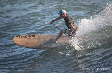 Andrew Cassidy: diversão no SUP Longboard