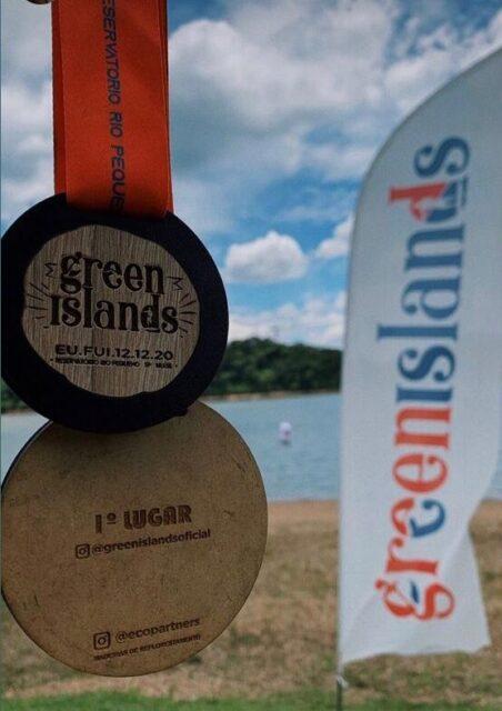 Medalha do Green Islands 2020
