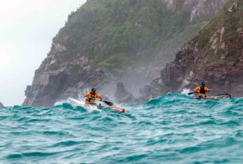 Remar de canoa