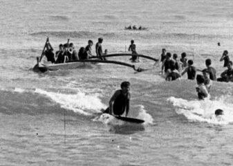 Primeiras imagens de surfe no Havaí