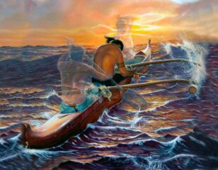 canoa polinésia e a espiritualidade