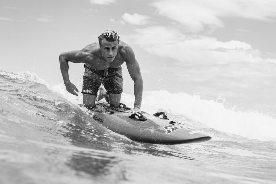 Matt Belivacqua prone paddleboard