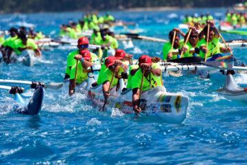 Marathona Polynésie la 1ère Va'a