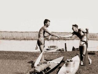 primeira expedição de SUP da história