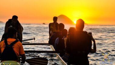 Passeio de canoa havaiana