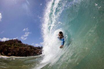 João Bazelatto, bicampeão brasileiro de bodysurf