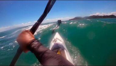 surfski downwind porto da barra