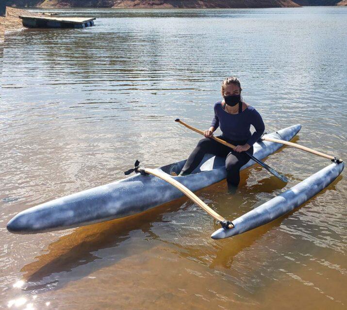 Canoa OC-1 impressa em 3D