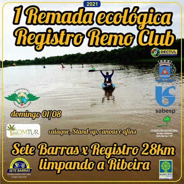 Remada Ecológica Registro Remo Club