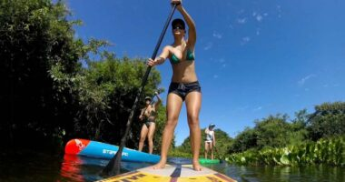 Remar de stand up paddle