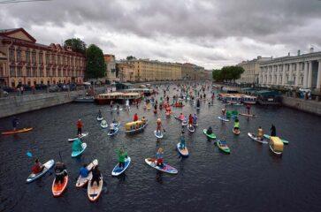 stand up paddle na Rússia